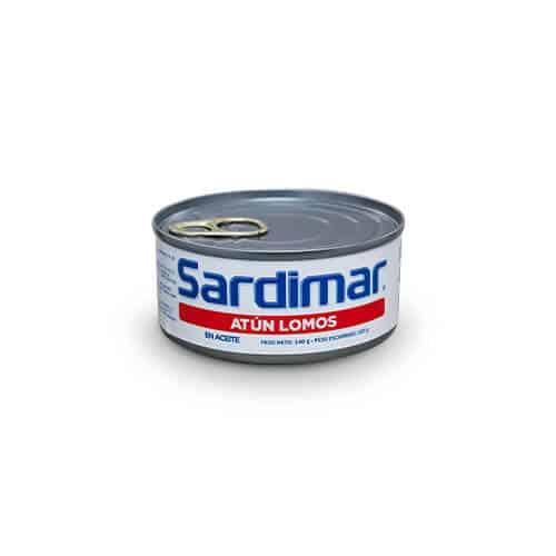 Atún Lomos Aceite Sardimar 140g