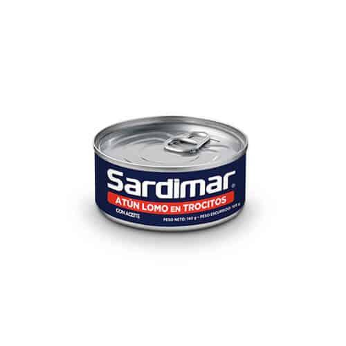 Atún Trocitos Aceite Sardimar 140g