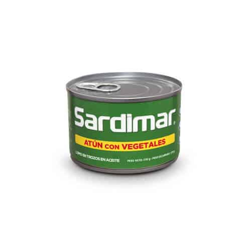 Atún Trozos Con vegetales Sardimar 230g