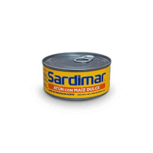 Atún Trozos con Maíz Dulce Sardimar 140g