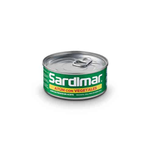 Atún Trozos con Vegetales Sardimar 140g