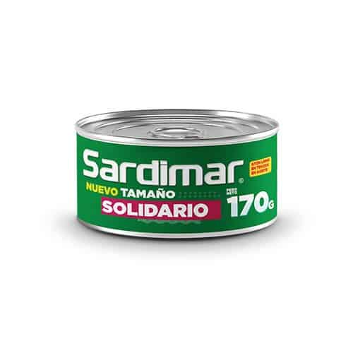Atún Trozos con Vegetales Sardimar 170 g